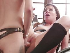 Mother And Daughter, Lesbian Fingering And Dildo Play