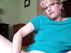 Blonde Mature Girl's Anal Masturbation (reposted)