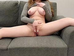 OrgasmCouple – homemade solo masturbation video