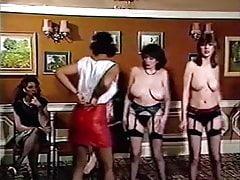 DISCO TITS - vintage 80's British busty girl strip dancing