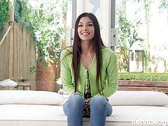 Yelena - Unemployed Latina finds a job
