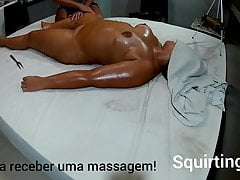 Massage of squirting #7 part 3